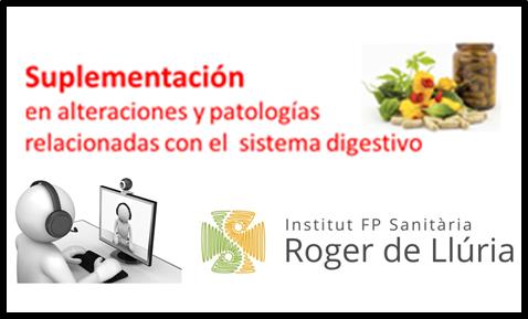 Suplementación en alteraciones y patologías relacionadas con el sistema digestivo