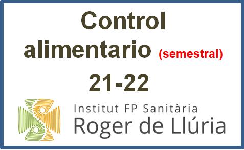 Control Alimentario Semestral_21-22